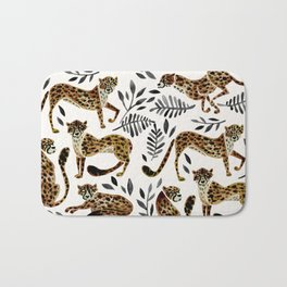 Cheetah Collection – Mocha & Black Palette Bath Mat