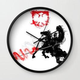 Polish Hussar Wall Clock