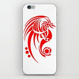 Dragosseria - red fantasy dragon iPhone Skin