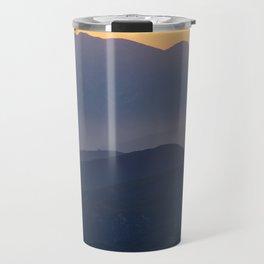 Mountain Sunset (Big Bear Lake, California) Travel Mug