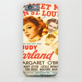 Vintage poster - Meet Me in St. Louis iPhone Case