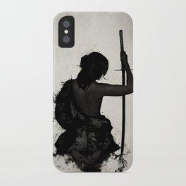 Female Samurai - Onna Bugeisha iPhone Case