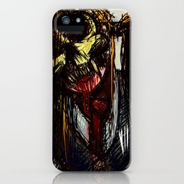 Ex mask iPhone Case