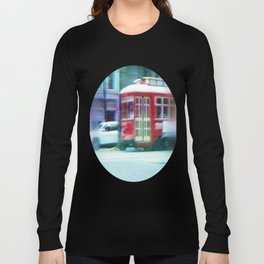 Streetcar on Canal Street Long Sleeve T-shirt