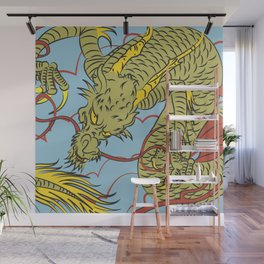 Chinese Dragon Traditional  Wall Mural