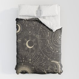 Space patterns Comforters