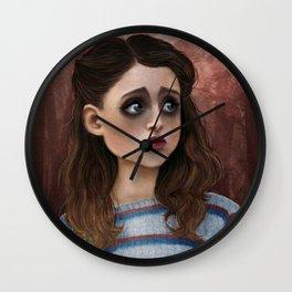 Nancy - Stranger Things Fan Art Wall Clock