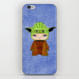 A Boy - Yoda iPhone Skin