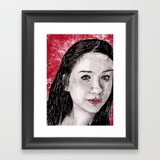 Mary 2 Framed Art Print