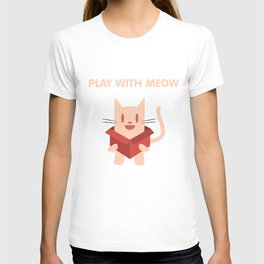 Play with Meow T-shirt