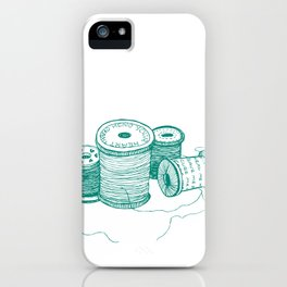 Mend your heart thread iPhone Case