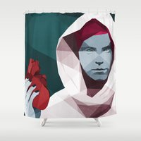 hunting Shower Curtains featuring HUNTING by ANDRESZEN