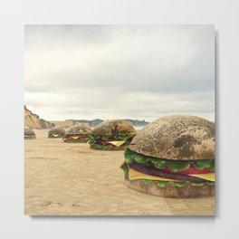 Moeraki Burgers Metal Print
