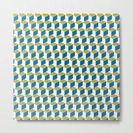 Geometric Box Metal Print