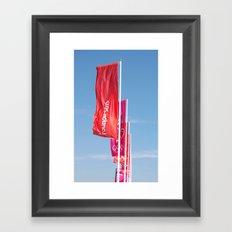 London2012 Flags Framed Art Print