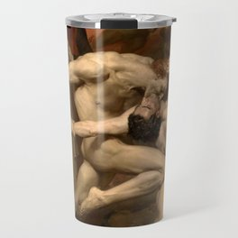 Dante and Virgil in Hell Travel Mug