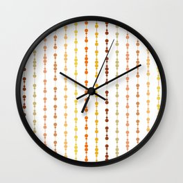 Multi-faceted decorative lines 13 Wall Clock