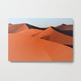 Shapes In The Desert Metal Print