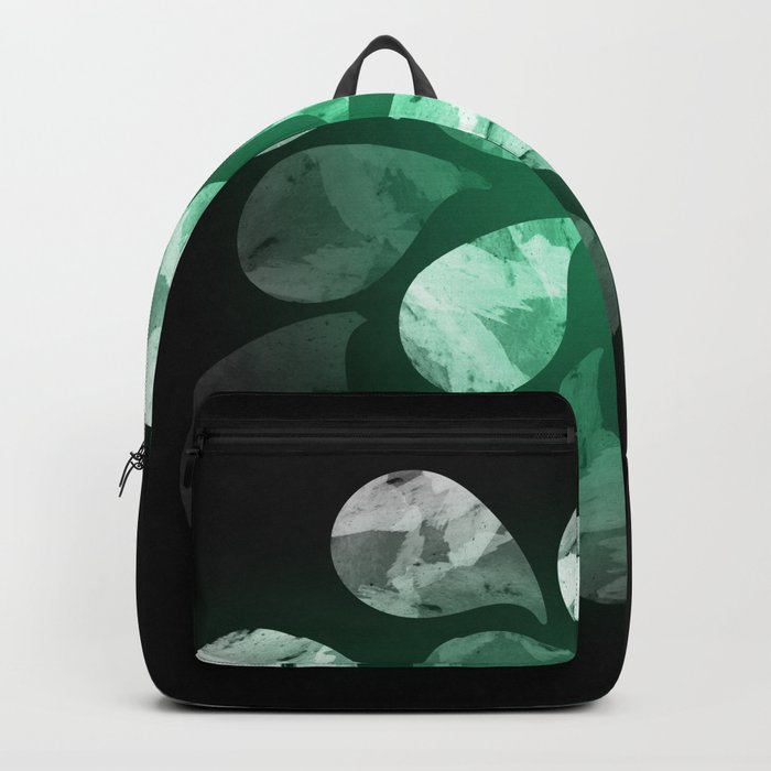 Abstract Water Drops XXX Backpack