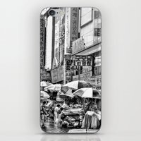 korean iPhone & iPod Skins featuring Korean Rain by Anthony M. Davis