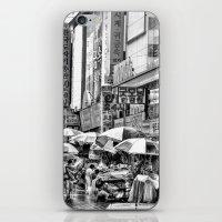 korean iPhone & iPod Skins featuring Korean Rain by Anthony M. Davis