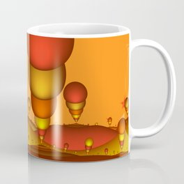 Fantasy Landscape, Fractal Art Coffee Mug