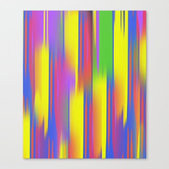 Multi couloured Canvas Print