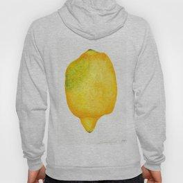 Fresh Lemon Watercolor Hoody