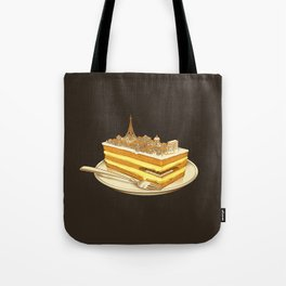 Hungry for Travels: Slice of Paris Tote Bag