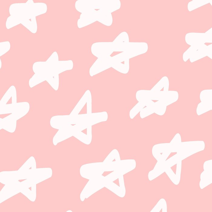 Stars on pink background Leggings