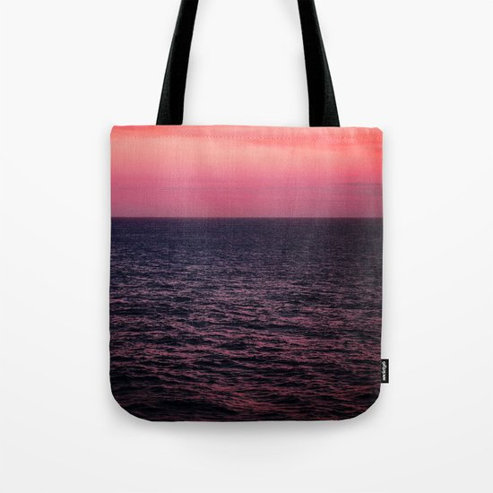 Pretty Pink Sunset Tote Bag