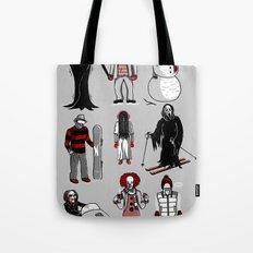 Horror lives winter Tote Bag