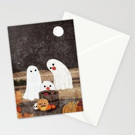 Apple Bobbing Stationery Cards