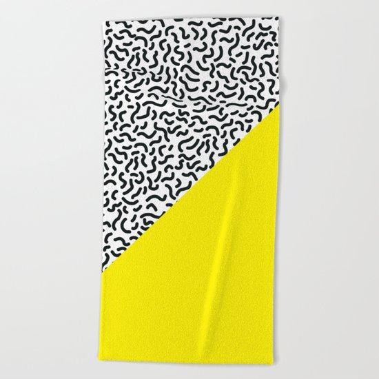 Pop Art Pattern 2 Beach Towel