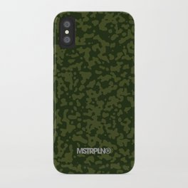 Comp Camouflage / Green iPhone Case