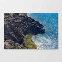 Kauai Seaside Cliff Canvas Print