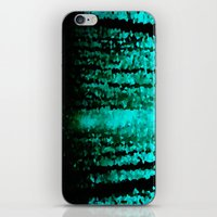 teal iPhone & iPod Skins featuring Teal  by 2sweet4words Designs