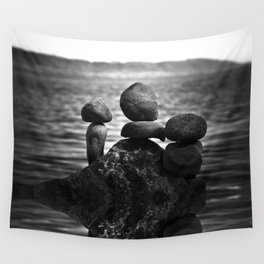 together alone Wall Tapestry