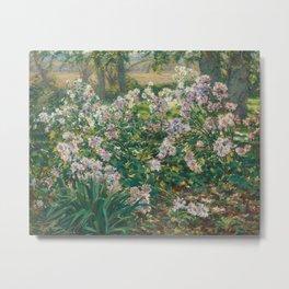 Windflowers Flowers Painting Metal Print