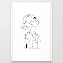 B Color Beauty Framed Art Print