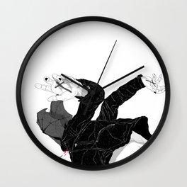 Cough it Up Wall Clock