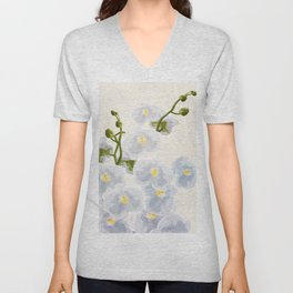Orchidea Unisex V-Neck