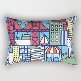 San Francisco, California Rectangular Pillow