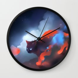 Over The Rainbow Wall Clock