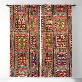 Azeri Verneh  Antique Karabagh Caucasian Rug Print Blackout Curtain