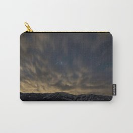 Meteor Over the Bridgers Carry-All Pouch