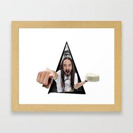 Steve Aoki Framed Art Print