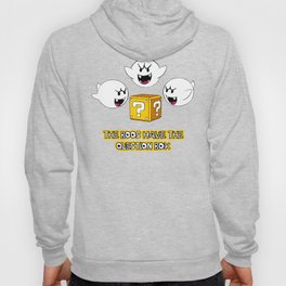 The boos have the question box Hoody