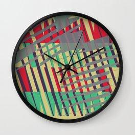 Abstract Communication Pattern Wall Clock