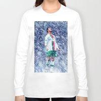 ronaldo Long Sleeve T-shirts featuring Cr7 Ronaldo by Cr7izbest